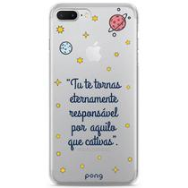 Capa para iPhone 8 Plus / 7 Plus, Estampada, Pequeno Príncipe, Customic - Default