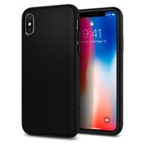Capa para iphone x liquid air spigen matte black