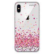 Capa para iPhone X - Mycase  Corações 4 -