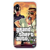 Capa para iPhone X - Mycase  GTA V  Modelo 4 -