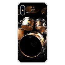 Capa para iPhone X - Mycase  Música  Bateria -