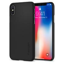 Capa para iphone x thin fit spigen matte black