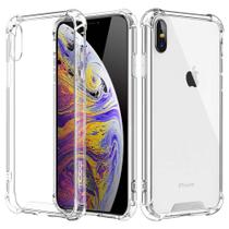 Capa Para iphone XR Anti Shock + Pelicula De Vidro 3d Full Cover 9h 2.5d - Transparente - M3