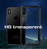 Capa Para Iphone XR Crystal Hybrid Anti Shock - Preta - M3