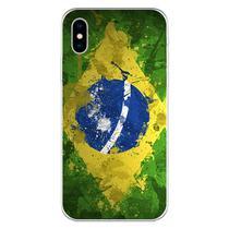 Capa para iPhone XS Max - Arte  Bandeira do Brasil - Mycase