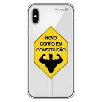 Capa para iPhone XS Max - Corpo em construção. - Mycase
