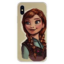 Capa para iPhone XS Max - Frozen  Anna Desenho - Mycase