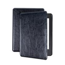 Capa para Kindle da 10 geração iluminação embutida - Couro rígida - tampa magnética - Estoquebr