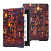 Capa para Kindle da 10 geração iluminação embutida - FIT rígida - tampa magnética - Estoquebr