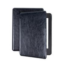 Capa para Kindle Paperwhite da 10 geração - Couro rígida - tampa magnética - EstoqueBR