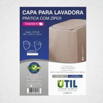 Capa Para Lavadora Prática Com Zíper M-ÚTIL -