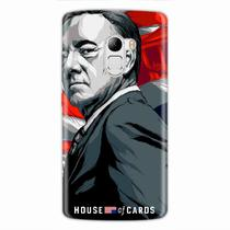 Capa para Lenovo Vibe A7010 House Of Cards Frank Underwood - Quero case