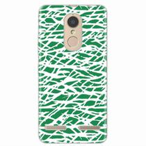 Capa para Lenovo Vibe K6 Green Abstract - Quero case