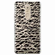 Capa para Lenovo Vibe K6 Plus Black Abstract - Quero case