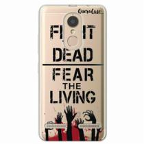 Capa para Lenovo Vibe K6 Walking Dead - Fight The Dead - Quero case