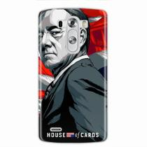 Capa para Lg G3 House Of Cards Frank Underwood - Quero case