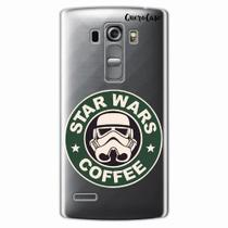 Capa para LG G4 Beat Star Wars Coffee Transparente - Quero case