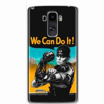 Capa para LG G4 Stylus We Can Do It! 01 - Quero case