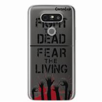 Capa para LG G5 Walking Dead - Fight The Dead - Quero case