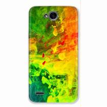 Capa para LG K10 Power Abstract Painting 01 - Quero case