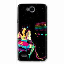 Capa para LG K10 Power Atari Space Invaders - Quero case