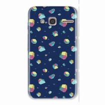 Capa para LG K10 Power Colorful Diamonds