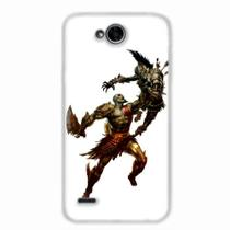 Capa para LG K10 Power God of War Kratos 04 - Quero case