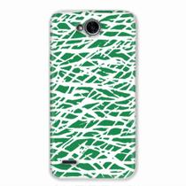 Capa para LG K10 Power Green Abstract - Quero case