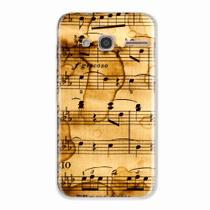 Capa para LG K10 Power Partitura Musical 01 - Quero case
