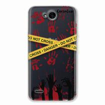 Capa para LG K10 Power Walking Dead - Apocalipse Zumbi - Quero case