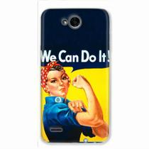 Capa para LG K10 Power We Can Do It! 02 - Quero case