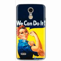 Capa para LG K10 Pro We Can Do It! 02