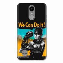 Capa para LG K4 2017 We Can Do It! 01 - Quero case