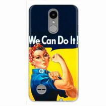 Capa para LG K4 2017 We Can Do It! 02 - Quero case