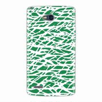Capa para LG L80 Green Abstract - Quero case