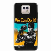 Capa para LG X Cam We Can Do It! 01 - Quero case