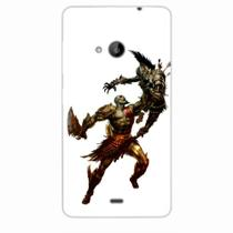 Capa para Lumia 535 God of War Kratos 04 - Quero case