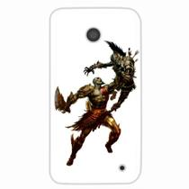 Capa para Lumia 630 God of War Kratos 04 - Quero case