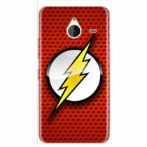 Capa para Lumia 640 XL The Flash 04