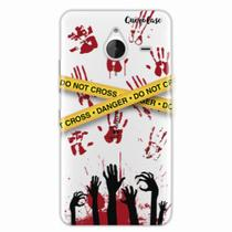 Capa para Lumia 640 XL Walking Dead - Apocalipse Zumbi