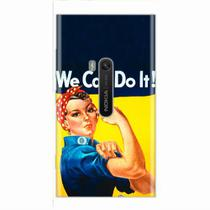 Capa para Lumia 920 We Can Do It! 02 - Quero case