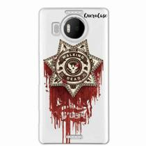 Capa para Lumia 950 XL Walking Dead Distintivo - Quero case