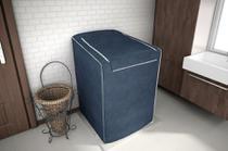 Capa para Maquina De Lavar 12,13,15 e 16 Kg Electrolux - Cor Azul Cobalto - Adomes
