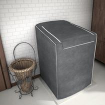Capa Para Maquina De Lavar Adomes Com Ziper 12a16KG Chumbo -