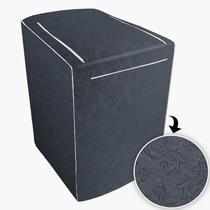 Capa Para Máquina de Lavar Com zíper 12kg a 16kg Chumbo - Adomes