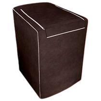 Capa para maquina de lavar Eletrolux, Brastemp, Consul 12, 13, 15 e 16 KG Cafe - Adomes