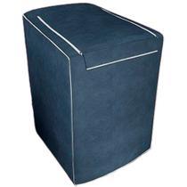 Capa para máquina de lavar Eletrolux, Brastemp, Consul 7, 8 e 9 KG Azul Cobalto - Adomes