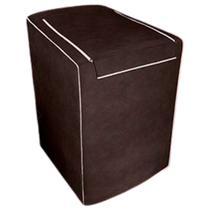 Capa Para Máquina De Lavar Eletrolux, Brastemp, Consul 7, 8 E 9 Kg Café - Adomes