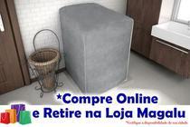 Capa para Máquina de Lavar Flanelada - 01 Parte - CobreMais - CINZA - Colomarq, Arno, Muller, Suggar, Latina, New Up, Brastemp, Electrolux, Consul - Jolular.Shop