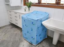 Capa para Máquina de Lavar PEQUENA (P)  Brastemp Eletrolux Consul GE Dako etc - Perfetto